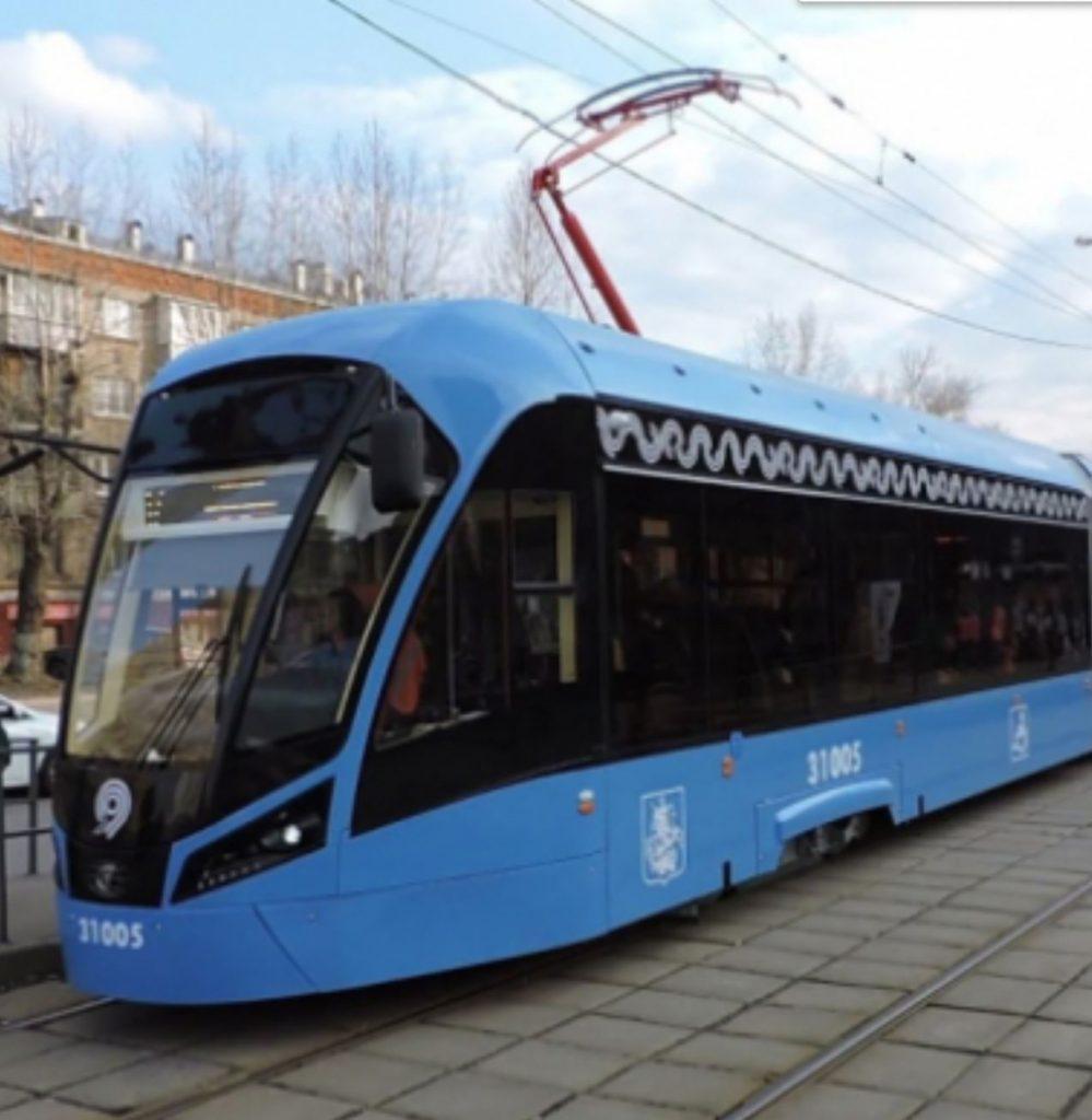 В России работают над созданием беспилотного трамвая