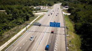Развитие опорной сети автомобильных дорог